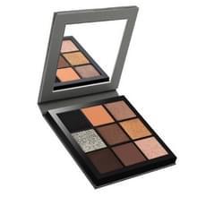 Miaool matte glans oogschaduw palet langdurige Waterproof oogschaduw palet make-up cosmetica (winter)