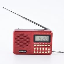3 stuks HABONG KK-170 draagbare 21 bands FM/AM/SW Radio oplaadbare radio receiver speaker  ondersteuning USB/TF-kaart/MP3-muziekspeler