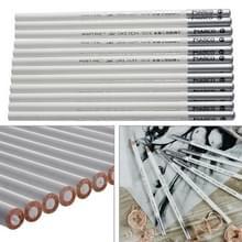 12 stuks wit Art schets tekening niet-toxisch potloden-krijt