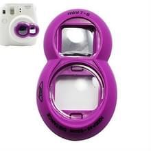 2PCS Selfie Mirror voor Polaroid Mini7s / Mini8 (Paars)