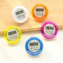 Ronde Magnetische Digitale Countdown Timer Alarm Stand Keuken Timer Koken Wekker  Willekeurige kleur levering