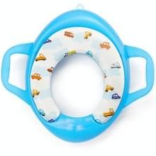 Kinderen Soft Potty Training Seat Splash Guard Washable Toilet Training Potty Cushion(Blauw)