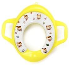 Kinderen Soft Potty Training Seat Splash Guard Washable Toilet Training Potty Cushion (Geel)