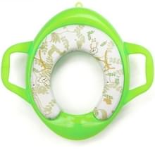 Kinderen Soft Potty Training Seat Splash Guard Washable Toilet Training Potty Cushion (Groen)