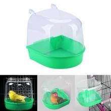 Papegaai vogel badkuip huisdier permanent bin Wash ruimte Parrot Badbenodigdheden (groen)