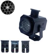 8W LED Stage Lighting Christmas Snowflake Pattern Projection Lamp Effect Laser Light  Plug Specificaties:EU Plug(Multiple Holes)
