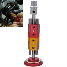 Fiets hidden tool multifunctionele gecombineerde reparatie tool set (rood)