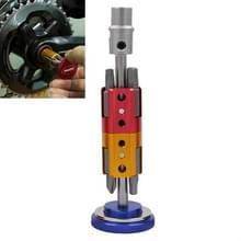 Fiets hidden tool multifunctionele gecombineerde reparatie tool set(blauw)