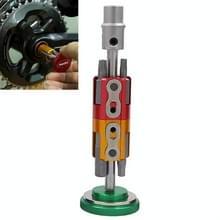 Fiets hidden tool multifunctionele gecombineerde reparatie tool set(groen)