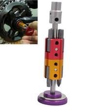 Fiets hidden tool multifunctionele gecombineerde reparatie tool set (paars)