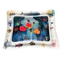 3 STKS baby opblaasbare aquarium water spelen kussen Prostrate pad Toy mat wit 60 * 50cm