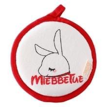 Baby bad katoen borstel Bad benodigdheden  stijl: rode konijn