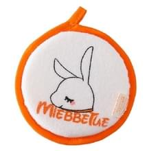 Baby bad katoen borstel Bad benodigdheden  stijl: oranje konijn