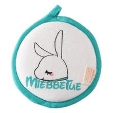 Baby bad katoen borstel Bad benodigdheden  stijl: groen konijn