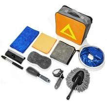10 in 1 Auto Cleaning Tool Car Wash Beauty Tool Set