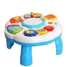 Multifunctionele verlichting hand drums kinderen elektrische muziek speelgoed (wit)