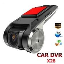 Anytek X28 mini auto DVR Camera Full HD 1080P auto digitale video recorder DVRs ADAS camcorder G-sensor Dash cam WiFi GPS Dashcam
