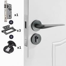 Magnetisch slot Mute Split Lock Solid Space Aluminium Binnendeurslot  Stijl: 72 Mute Package(Grijs)