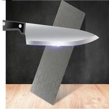 Vierkante mes Slijer Whetstone stenen schijf Grit keuken gereedschap honingraat Diamantslijpen Blade