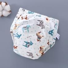 6 laag baby luier waterdichte herbruikbare doek luiers Baby katoen opleiding ondergoed broek luier M (6-12KG) (Trojan)