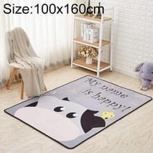 Mega Nordic stijl cartoon tapijt woonkamer anti val non-slip Vloermatten  grootte: 100x160cm (koe)