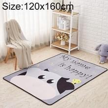 Mega Nordic stijl cartoon tapijt woonkamer anti val antislip Vloermatten  grootte: 120x160cm (koe)
