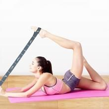 Digitale gesegmenteerde Dance Yoga Stretch Band Shaping Body Assisted Posture Training Resistance Stretch Band (Grijs)