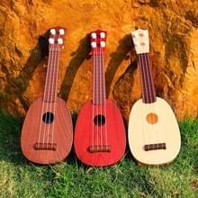 5 PCS Kinderen Simulatie muziekinstrumenten Spelen ukulele Educatieve Verlichting Speelgoed  Random Color Delivery