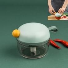 Huishouden Multi-functie Mini Knoflook Cutter Snijden groenten stampende knoflook keuken tools(Geen)