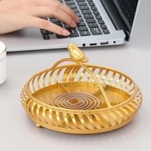 Simple and Creative Golden Iron Mosquito Coil(Short Bird Cage)