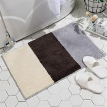 Eenvoudig patroon Modern Huishouden Non-slip Absorberende vloermatten voor keuken en badkamer  grootte: 40x60cm(Vancouver-1)