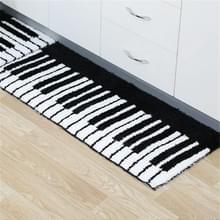Eenvoudig patroon Modern Huishouden Non-slip Absorberende vloermatten voor keuken en badkamer  grootte: 50x80cm (Piano)