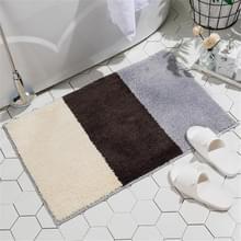 Eenvoudig patroon Modern Huishouden Non-slip Absorberende vloermatten voor keuken en badkamer  grootte: 50x80cm(Vancouver-1)