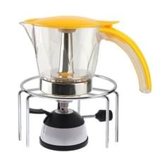 Mini gasbrander met keramische vlam hoofd koffie kachel Maker koffie kachel Siphon pot
