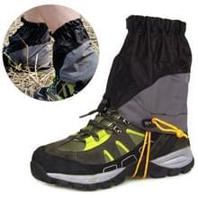 Outdoor alpinisme Sand proof waterdichte Tearproof legging beschermhoes (zwart)