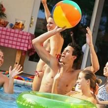 3 STKS kleurrijke opblaasbare bal buiten strand zwembad water speelgoed  willekeurige kleur levering