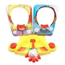 Pie gezicht Showdown spel uitdaging familie interactieve tafel speelgoed voor kind prank speelgoed double