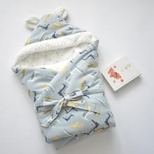 Cartoon katoen baby Holding deken (krokodil Koninkrijk)