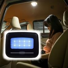 Auto Interieur Wireless Intelligent Electronic Products Auto Reading Verlichting Plafondlamp LED Nachtlicht  Lichte Kleur: Blauw Licht (Zwart)