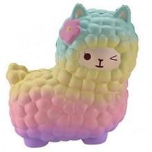 2 stuks squeeze speelgoed druk verminderen mini dierlijke kat dragen Slow Rising Kids gift  grootte: 12 * 11.5 * 7