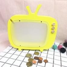 Houten TV opslag tank kinderen kamer display fotografie rekwisieten speelgoed (geel)