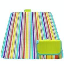 600D Oxford doek buiten picknick mat picknick doek waterdichte matten voorjaar reizen Beach mat  specificaties (lengte * breedte): 150 * 200 (kleurrijke streep)