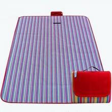 600D Oxford doek buiten picknick mat picknick doek waterdichte matten voorjaar reizen Beach mat  specificaties (lengte * breedte): 150 * 180 (PE rood raster)