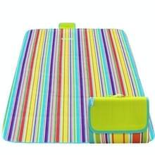 600D Oxford doek buiten picknick mat picknick doek waterdichte matten voorjaar reizen Beach mat  specificaties (lengte * breedte): 200 * 200 (kleurrijke streep)
