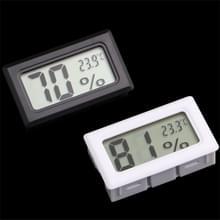 2 stks LCD display ABS materiaal koelkast embedded elektronische digitale display temperatuur en vochtigheid meter willekeurige kleur levering