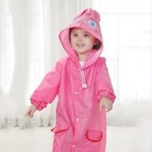 2 PC'S outdoor schattig waterdichte Kids regenjas Kids dierlijke stijl (roze)