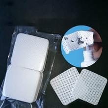 100 STKS/zak wegwerp wimper Verleng lijm verwijderen katoen pad make-up cosmetische reiniging Tool