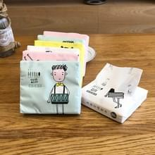 Kleurrijke Cartoon Huishouden Afdrukken papier Servet gezichtsweefsel  kleur willekeurige levering
