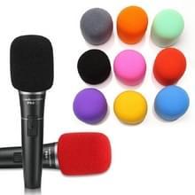 10 PCS Universal Sponge Microfoon Set Handheld Draadloze Microfoon Voorruit  willekeurige kleur levering