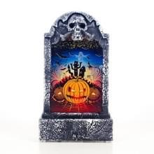 2 PC'S Halloween bar atmosfeer retro simulatie tombstone verlichting decoraties (pompoen)